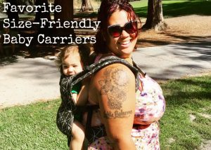 Our favorite plus-size baby carrier options for plus-size | Size friendly carriers