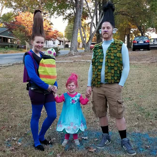 Trolls - Babywearing Halloween Costume Roundup 2017