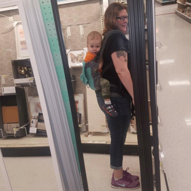 Toddler baby carriers