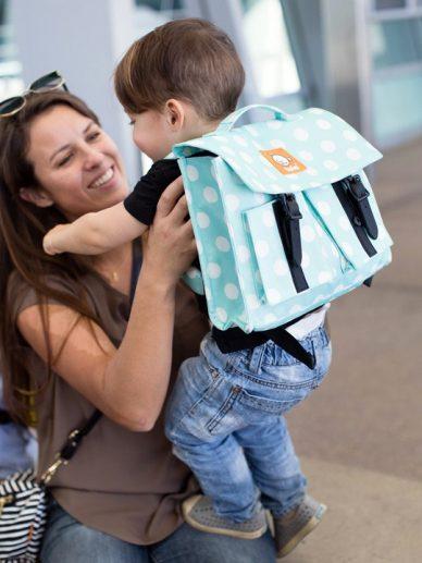Mint Candy Dots Tula Kids Backpack   Children's Backpacks   Tula Backpacks