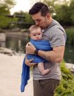 Marina Blue Beachfront Baby Everyday Ring Sling | Water Ring Slings | Water Baby Carrier | Water Sling