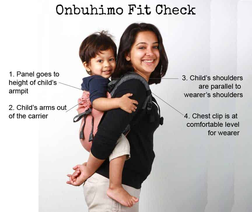 Onbuhimo-Fit-Check