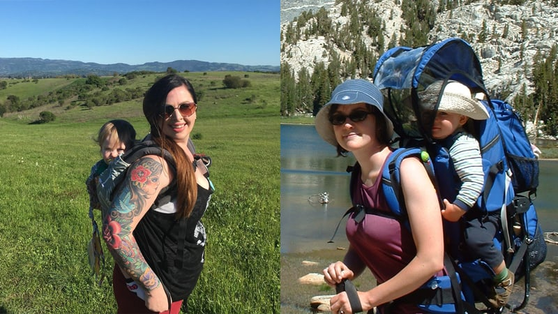 bc7c0d604b14 Baby Carriers for Hiking: framed backpacks vs. soft carriers - Pros ...
