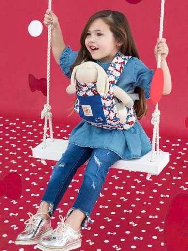 Hello Kitty Classic Ergobaby Doll Carrier | Ergobaby Doll Carriers | Hello Kitty Doll Carrier
