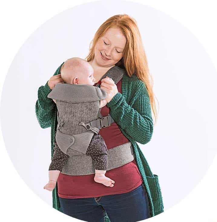 You+Me 4-in-1 Ergonomic Baby Carrier