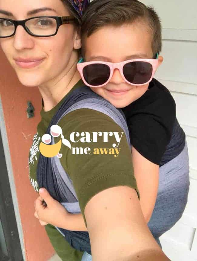 Ingrid Wrapsody Hybrid review with toddler