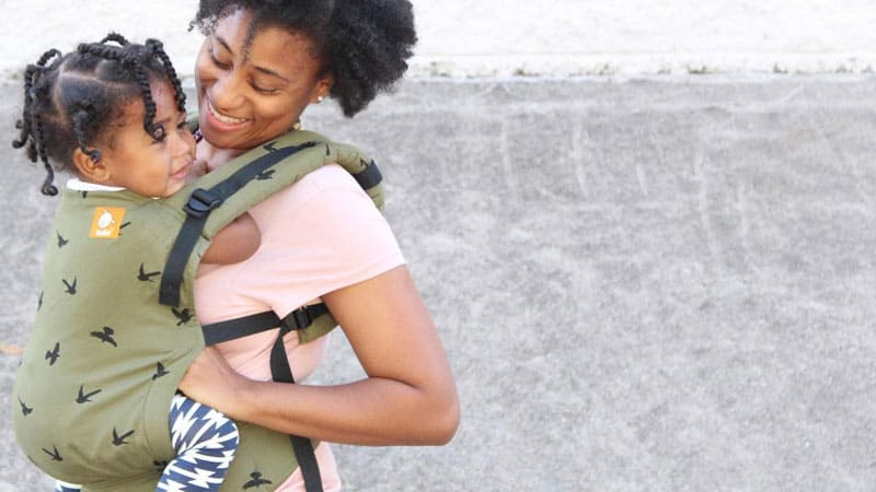 my baby hates the carrier -toddler