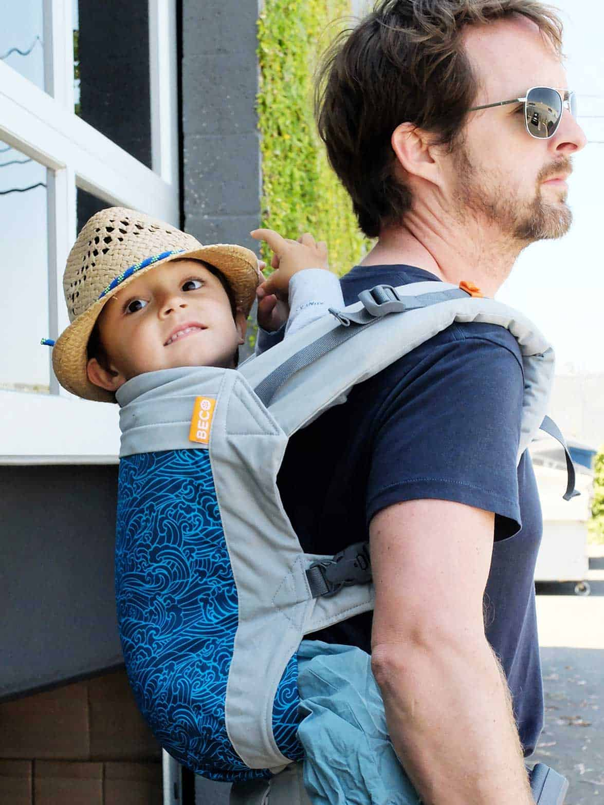 Wave Beco Toddler Carrier | Beco Baby & Toddler Carriers
